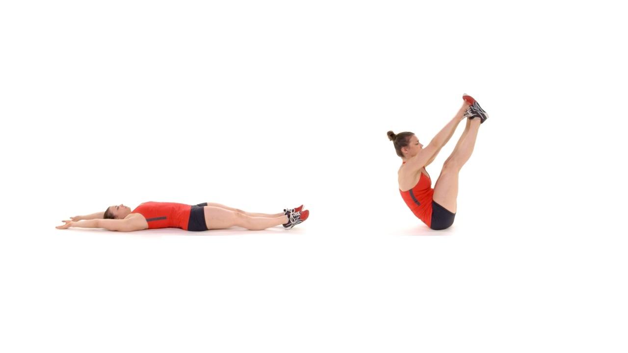 حرکت v تقویت شکم